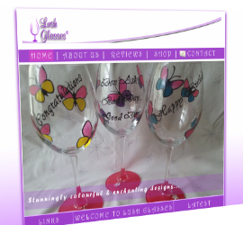 Lush Glasses create bespoke glassware with e-commerce