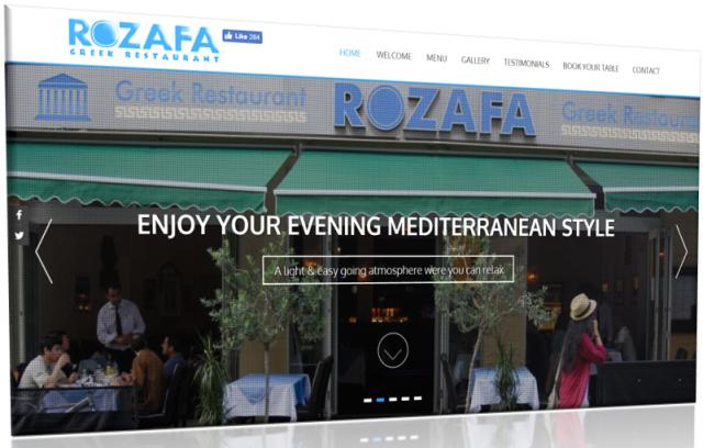 Rozafa Greek Restaurant Manchester