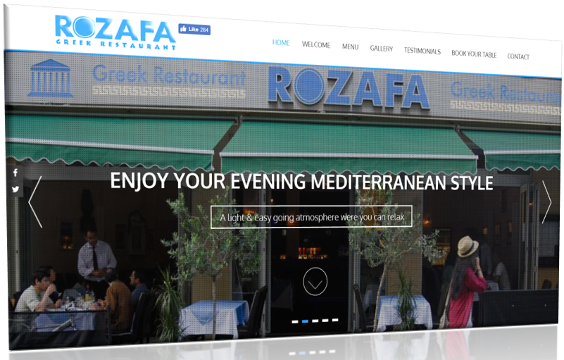 Rozafa Greek Restaurant Manchester